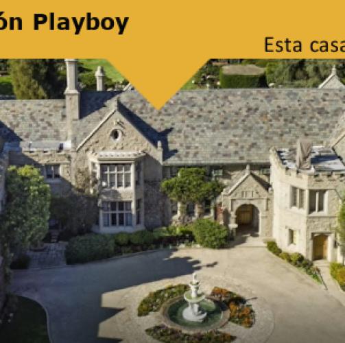 Esta casa sí que mola: La Mansión Playboy